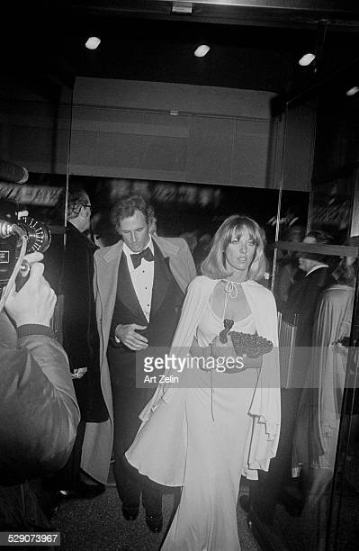 Andrea Beckett with her husband Bruce Dern circa 1960 New York