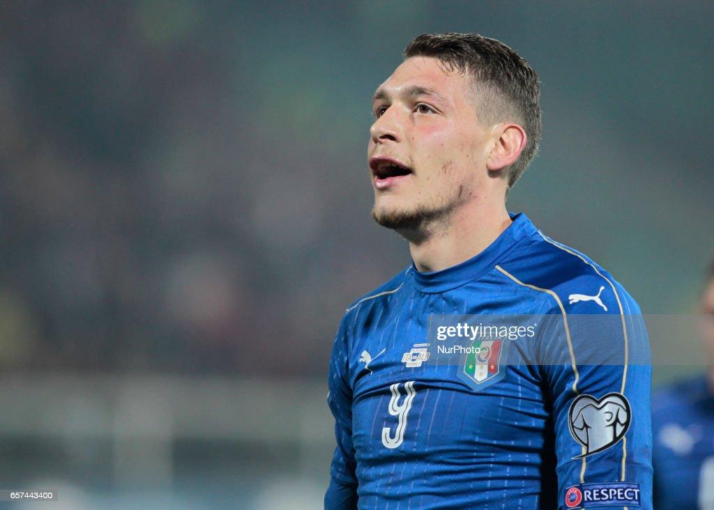 Italy v Albania - FIFA 2018 World Cup Qualifier : News Photo