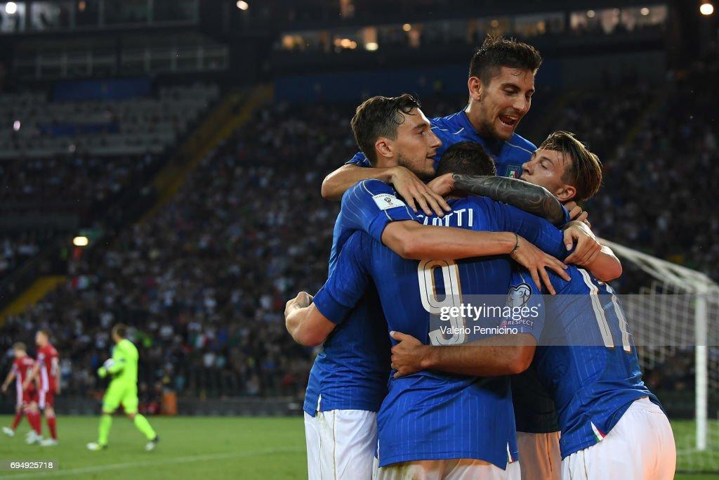 Italy v Liechtenstein - FIFA 2018 World Cup Qualifier : Fotografia de notícias