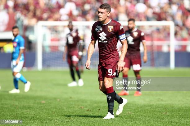 Andrea Belotti of Torino FC during the Serie A football match between Torino Fc and Ssc Napoli
