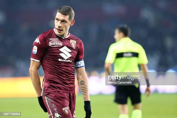 Andrea Belotti of Torino FC during the Serie A football match between Torino Fc and Genoa Cfc Torino Fc wins 21 over Genoa Cfc