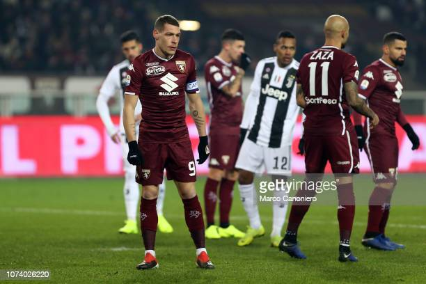 Andrea Belotti of Torino FC during the Serie A football match between Torino Fc and Juventus Fc Juventus Fc wins 10 over Torino Fc