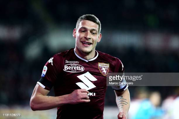 Andrea Belotti of Torino FC during the Serie A football match between Torino Fc and Bologna Fc Bologna Fc wins 32 over Torino Fc