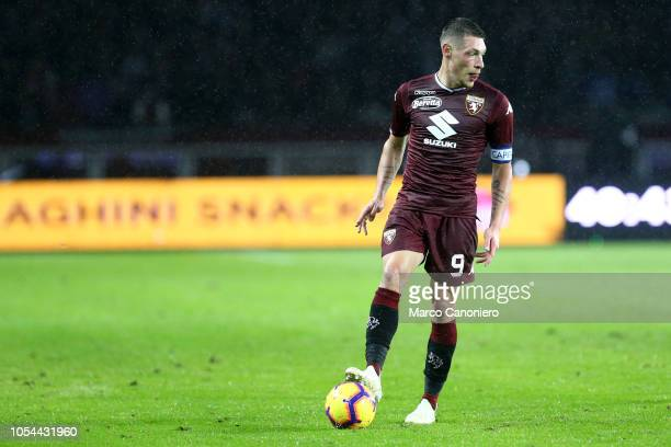 Andrea Belotti of Torino FC in action during the Serie A football match between Torino Fc and Acf Fiorentina The match end in a tie 11