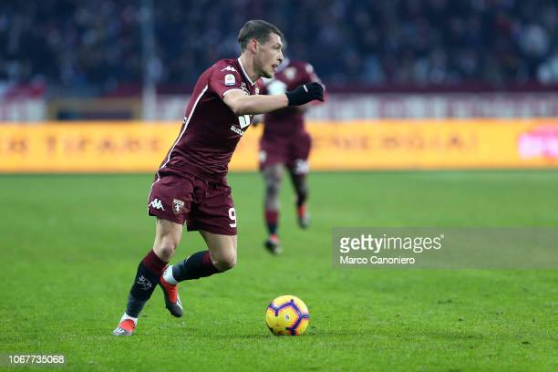 Andrea Belotti of Torino FC in action during the Serie A football match between Torino Fc and Genoa Cfc Torino Fc wins 21 over Genoa Cfc
