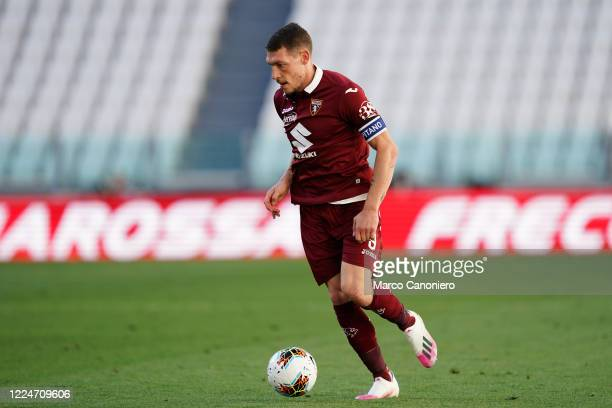 Andrea Belotti of Torino FC in action during the Serie A match between Juventus Fc and Torino Fc Juventus Fc wins 41 over Torino Fc