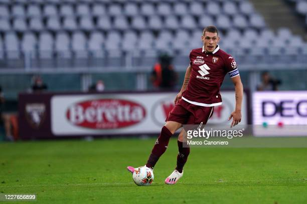 Andrea Belotti of Torino FC in action during the Serie A match between Torino Fc and Genoa Cfc Torino Fc wins 30 over Genoa Cfc