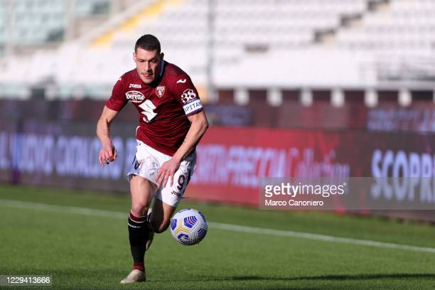 Andrea Belotti of Torino FC in action during the Serie A match between Torino Fc and Ss Lazio. Ss Lazio wins 4-3 over Torino Fc.