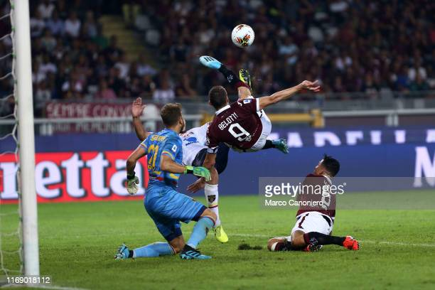 Andrea Belotti of Torino FC in action during the the Serie A match between Torino Fc and Us Lecce US Lecce wins 21 over Torino Fc