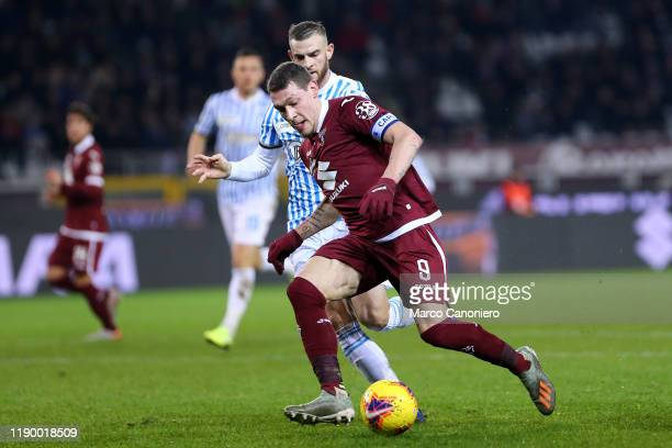 Andrea Belotti of Torino FC in action during the the Serie A match between Torino Fc and Spal. Spal wins 2-1 over Torino Fc.