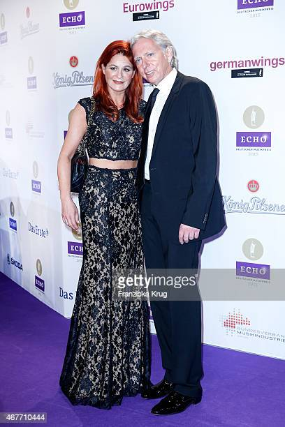Andrea Berg and her husband Ulrich Ferber attend the Echo Award 2015 on March 26 2015 in Berlin Germany