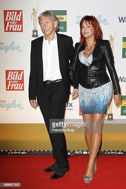 Andrea Berg and husband Uli Ferber In The ceremony The Golden 'Bild Der Frau' Awards In UllsteinHalle in Berlin