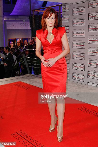 Andrea Berg attends the German Media Award 2015 on January 23 2015 in BadenBaden Germany