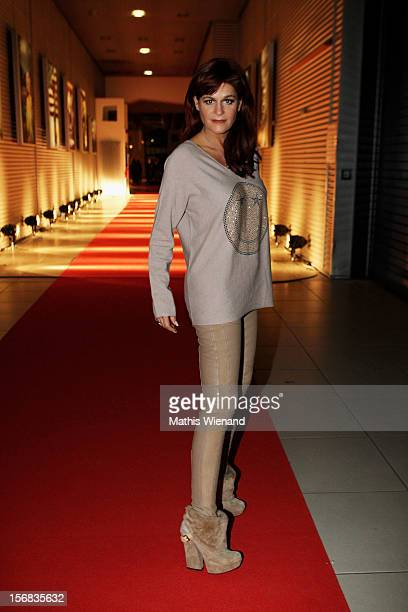 Andrea Berg attends the 'RTL Spendenmarathon' at RTL Studio Huerth on November 22 2012 in Cologne Germany