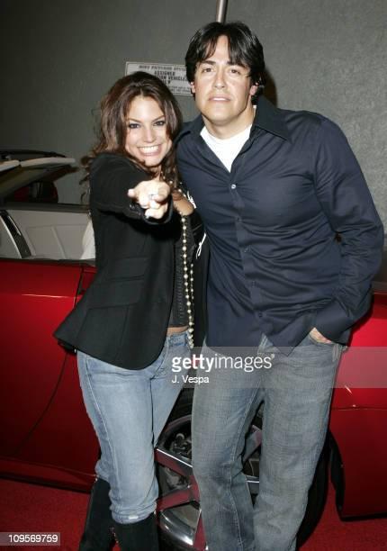 Andrea Bernholtz and Michael Ball, designer of Rock & Republic