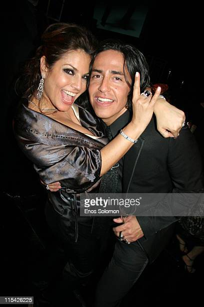 Andrea Bernholtz and Michael Ball during Rock & Republic's Fall 2006 Exhibition of Fashion Begins the New Era - After Party at Sony Studios in Culver...