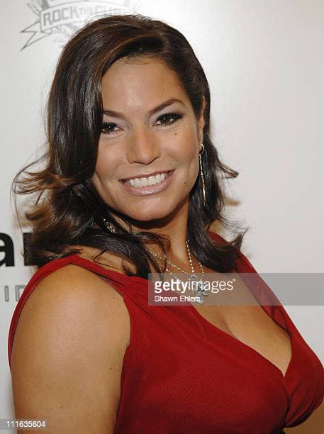 Andrea Bernholtz at the 16th Annual amfAR Rocks Benefit September 24, 2007 at the Puck Building in New York City.