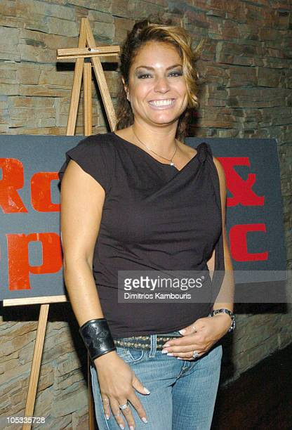 Andrea Bernholtz during Rock & Republic Party at 17 in New York City at 17 in New York City, New York, United States.