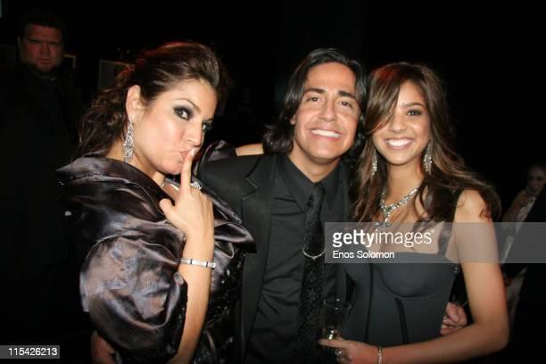 Andrea Bernholtz, Michael Ball and Eloisa Carvalho