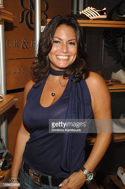 Andrea Bernholtz, President of Rock and Republic during Rock and Republic Spring 2007 Preview at The SoHo House at SoHo House in New York City, New...