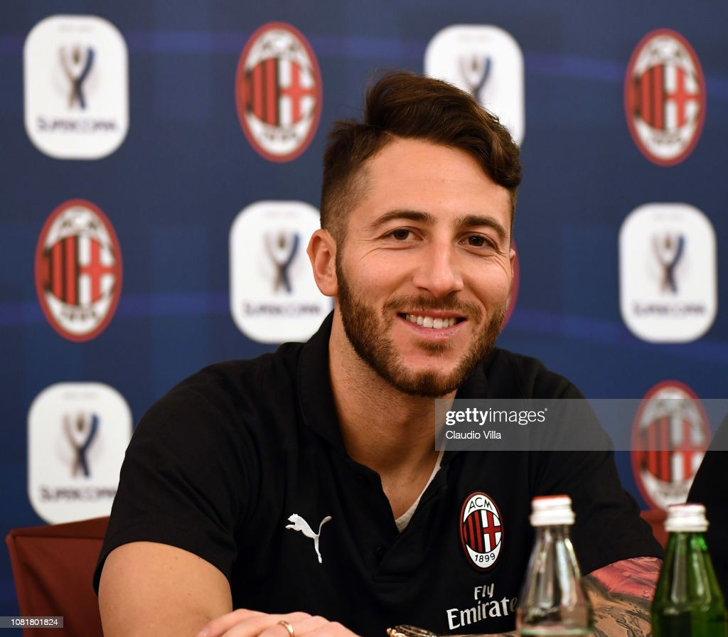 AC Milan Sponsor and Greet Events - Italian Supercup Previews : News Photo