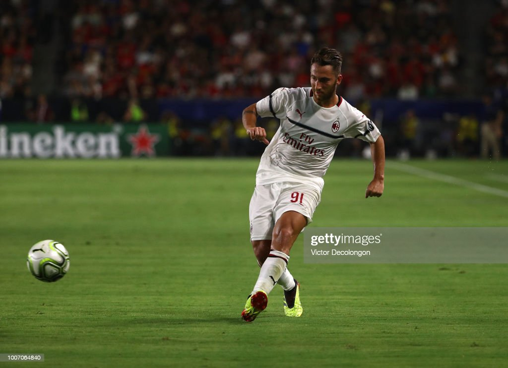 AC Milan v Manchester United - International Champions Cup 2018 : News Photo