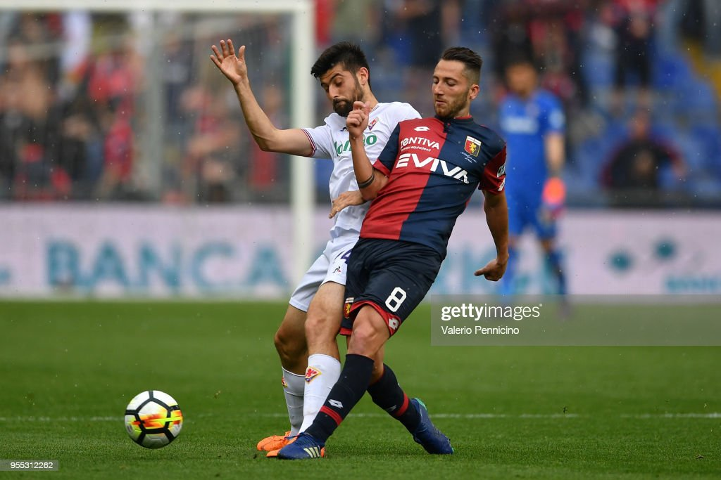 Genoa CFC v ACF Fiorentina - Serie A : News Photo
