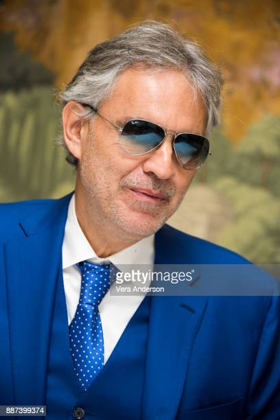 Andrea Bocelli at 'The Music of Silence' Press Conference at the London Hotel on December 4 2017 in New York City