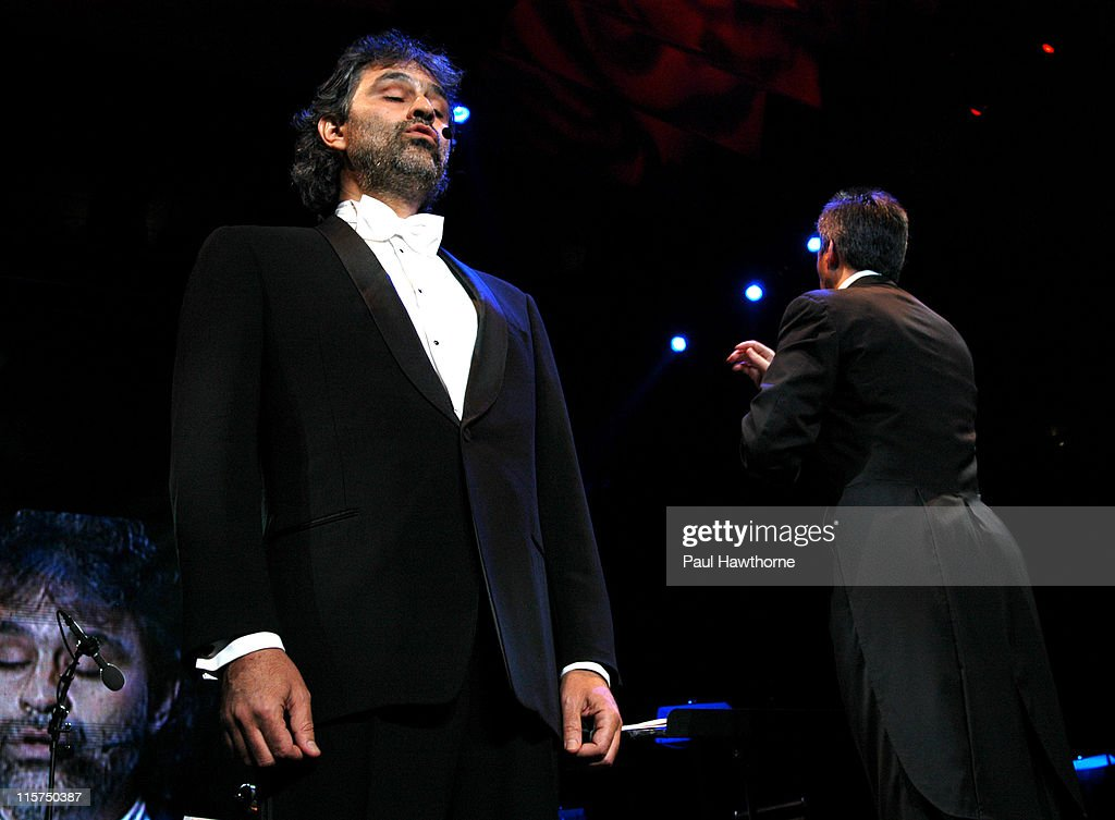 Andrea Bocelli During Andrea Bocelli Performs At Madison Square Garden At Madison  Square Garden In New