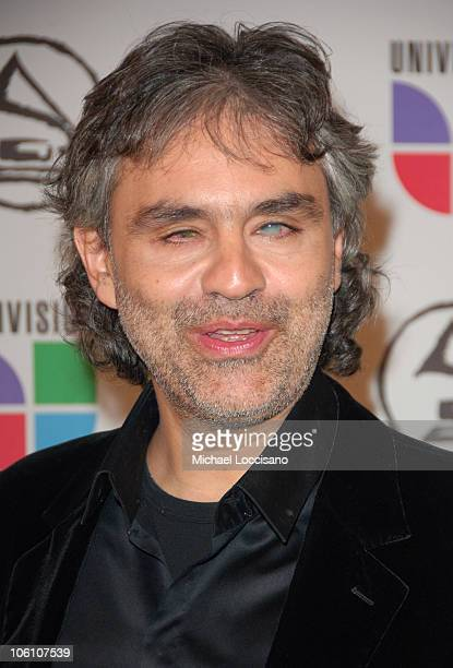Andrea Bocelli during The 7th Annual Latin GRAMMY Awards Arrivals at Madison Square Garden in New York City New York United States