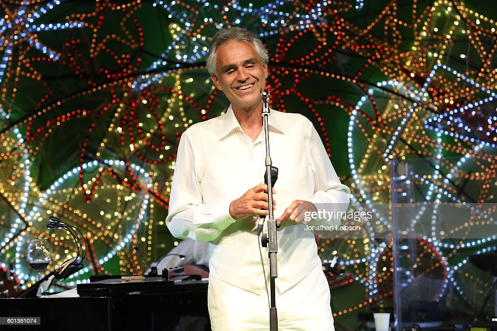 2016 Celebrity Fight Night Italy Benefiting The Andrea Bocelli Foundation