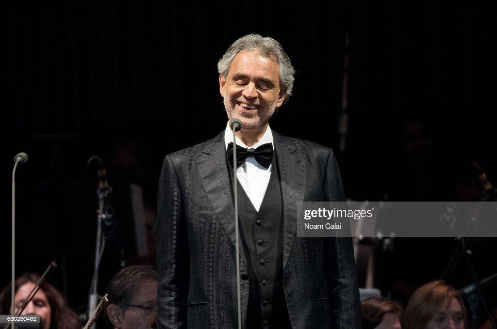 Andrea Bocelli In Concert - Newark, New Jersey