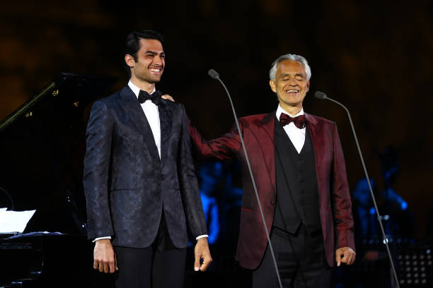 SAU: Andrea Bocelli Concert At UNESCO World Heritage Site Hegra