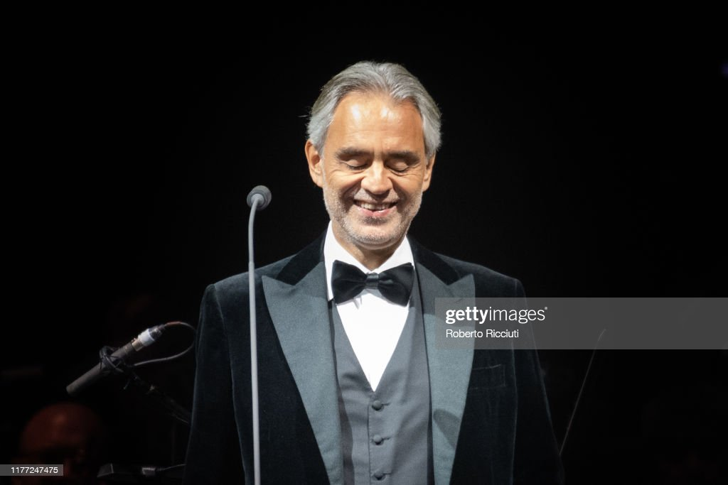Andrea Bocelli Performs At The SSE Hydro, Glasgow : News Photo