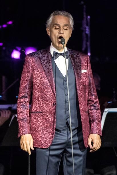 ITA: Andrea Bocelli Performs In Noto
