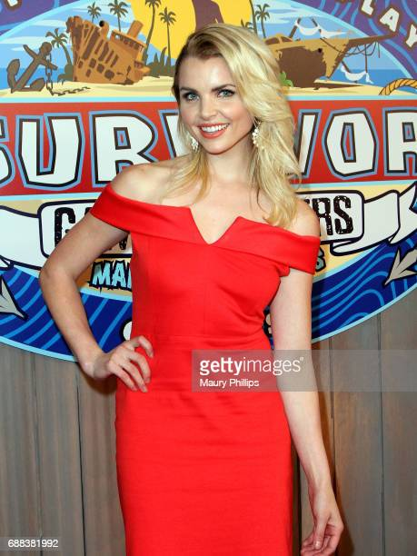 Andrea Boehlke arrives at CBS' 'Survivor Game Changers Mamanuca Islands' at CBS Studios Radford on May 24 2017 in Studio City California