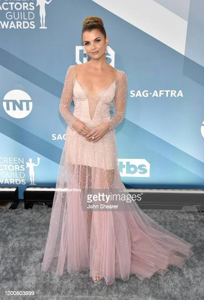 Andrea Boehlke attends the 26th Annual Screen Actors Guild Awards at The Shrine Auditorium on January 19 2020 in Los Angeles California