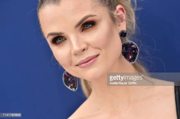Andrea Boehlke attends the 54th Academy of Country Music Awards at MGM Grand Garden Arena on April 07 2019 in Las Vegas Nevada
