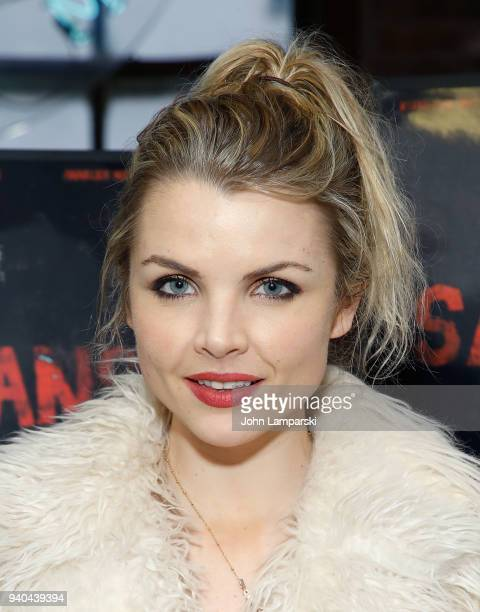Andrea Boehlke attends The Samaritans New York premiere at Anthology Film Archives on March 31 2018 in New York City