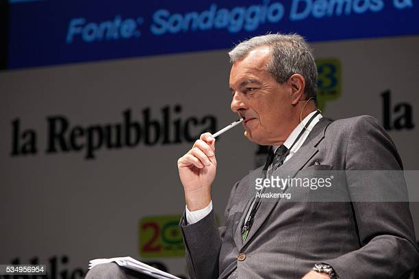 Andrea Bonanni at the 'Repubblica delle idee' festival organized by the Italian newspaper 'Repubblica' in Mestre