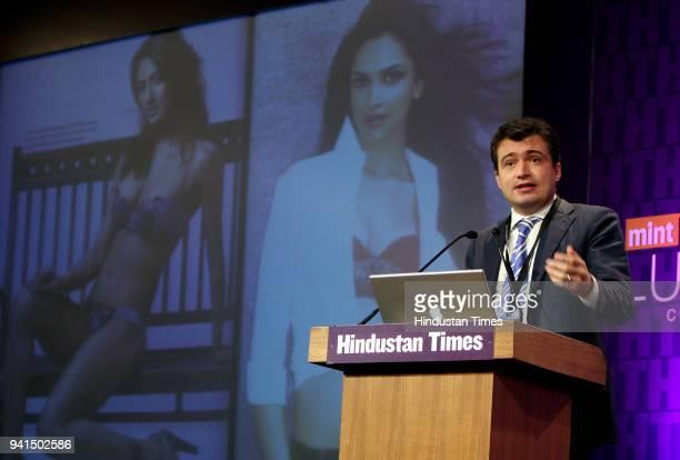 Andrea Bonardi Managing Director La Perla during the Mint Luxury Conference at Taj Palace in New Delhi