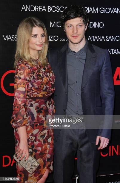 Andrea Bosca and Miriam Giovanelli attend the 'Gli Sfiorati' premiere at Cinema Barberini on March 1 2012 in Rome Italy