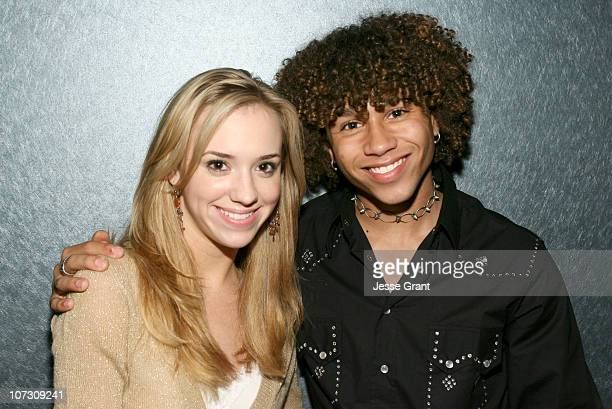 Andrea Bowen and Corbin Bleu during Gran Centenario Tequila Hosts the LA Premiere Performance of Sweet Charity After Party at Cinespace in Hollywood...