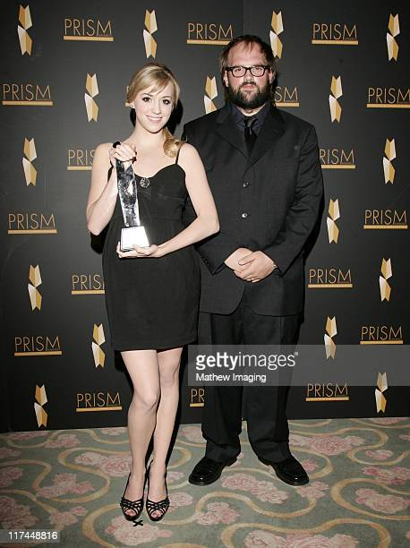 Andrea Bowen and Ethan Suplee during The 11th Annual PRISM Awards Winner Gallery at Beverly Hills Hotel in Beverly Hills California United States