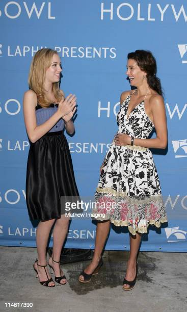 Andrea Bowen and Teri Hatcher during The Sound of Music at the Hollywood Bowl July 29 2006 at Hollywood Bowl in Los Angeles California United States