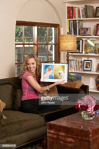 Andrea Bowen at Home