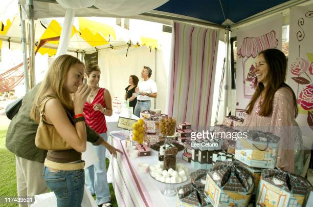 Andrea Bowen at Jaqua during Silver Spoon Hollywood Buffet Day Two at Private Estate in Los Angeles California United States Photo by Lee...