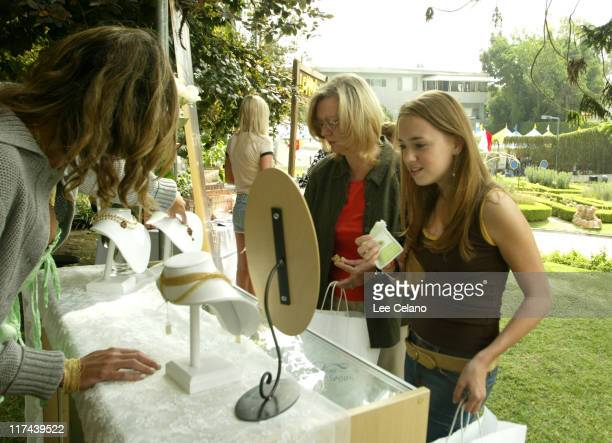 Andrea Bowen at Jill Albert Jewelry during Silver Spoon Hollywood Buffet Day Two at Private Estate in Los Angeles California United States Photo by...