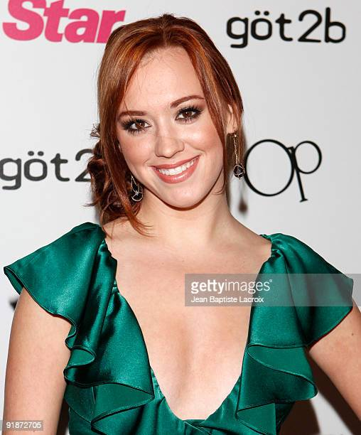 Andrea Bowen attends Star Magazine's 5th Year Anniversary Celebration at Bardot on October 13 2009 in Los Angeles California
