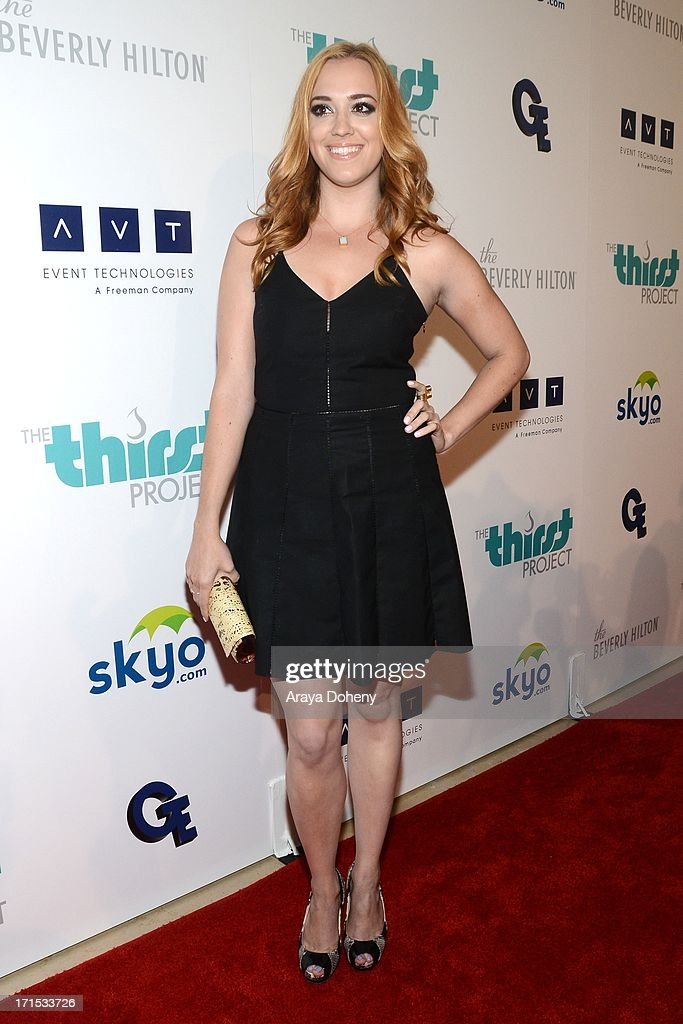 Andrea Bowen attends the 4th Annual Thirst Gala at The Beverly Hilton Hotel on June 25, 2013 in Beverly Hills, California.